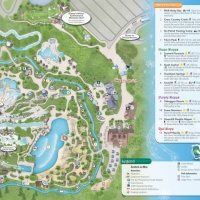 Walt Disney World Water Park Maps