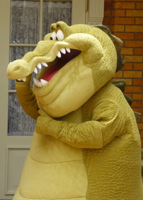 Louis the Alligator Long-lost Friends Magic Kingdom Disney World