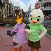 Chicken Little and Abby Mallard