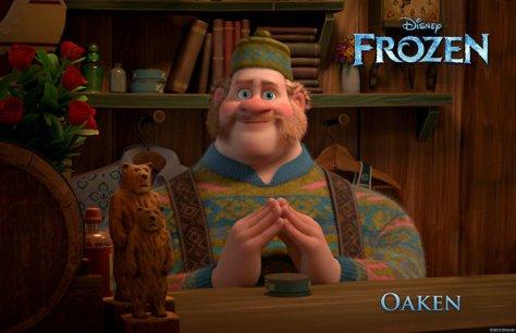 frozen  oaken