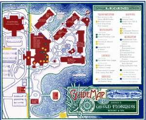 Walt Disney World Maps For Theme Parks Resorts