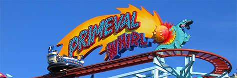 Walt Disney World, Animal Kingdom, Attractions, Primeval Whirl