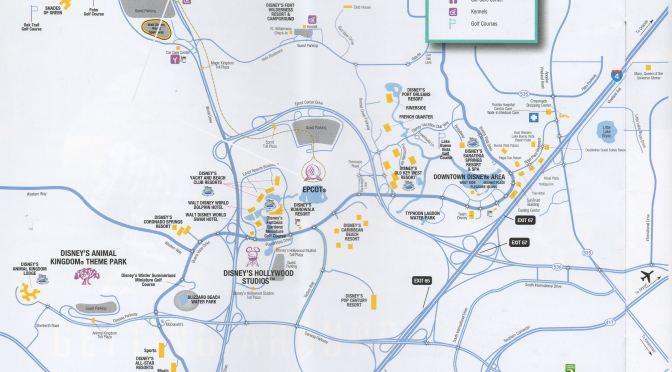 Walt Disney World Transportation Maps