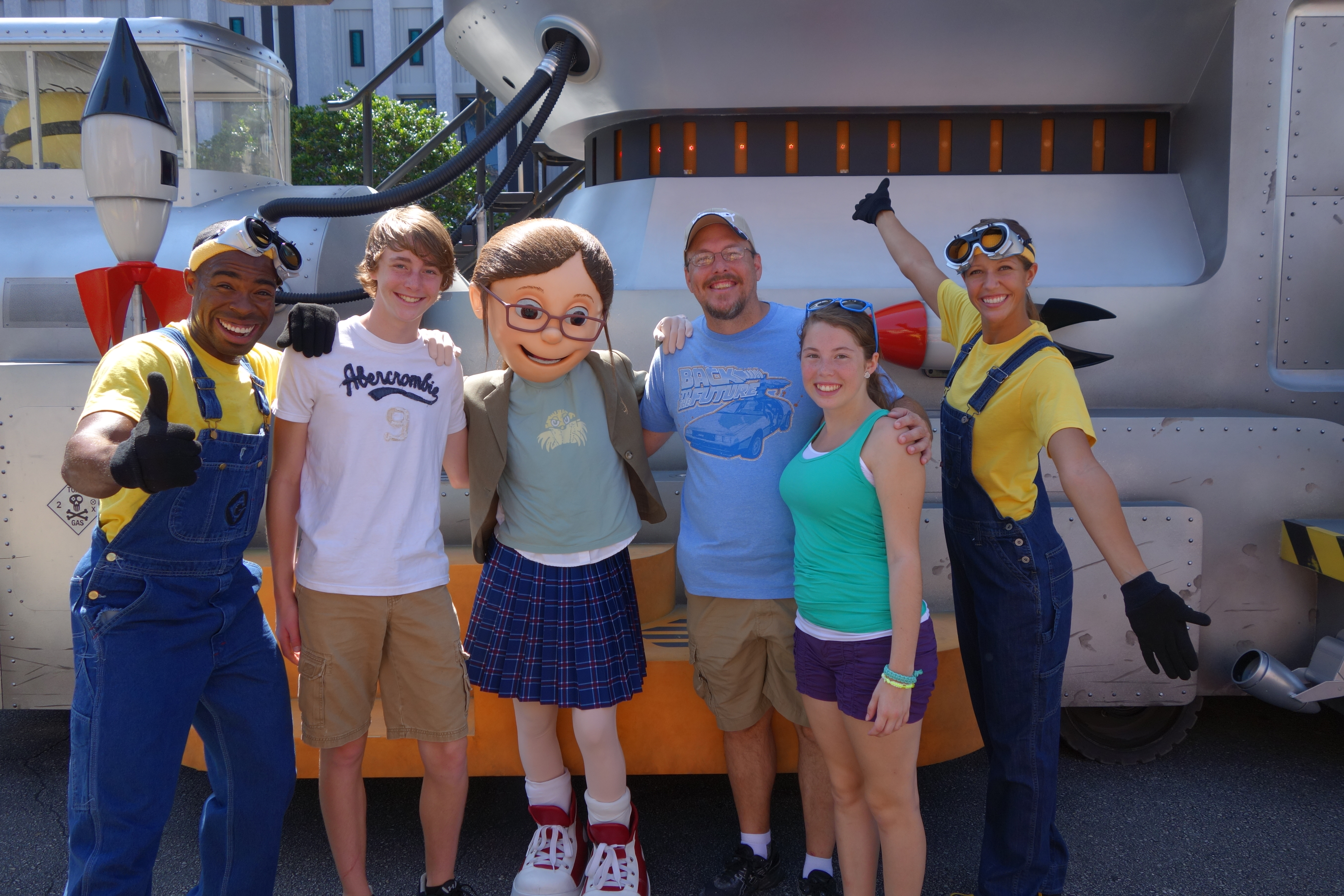 Universal orlando character meet and greets kennythepirates margo from despicable me june 2013 kristyandbryce Gallery