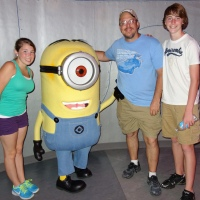 Minions at Universal Studios Florida
