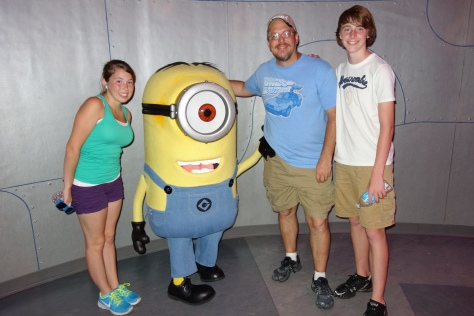 Minion Stuart at Minion Mayhem June 2013.