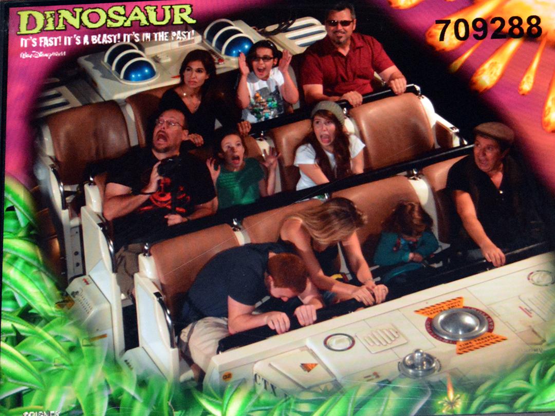 Disney Dinosaur Ride