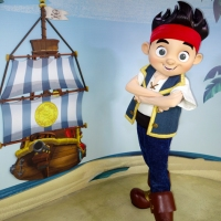 Jake and the Neverland Pirates new background at Hollywood Studios