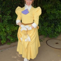 Meeting Tarzan and Jane Porter at Disney Animal Kingdom