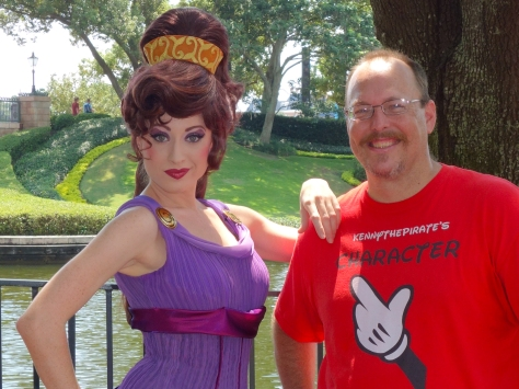 Walt Disney World, Character Meets, Megara, Epcot Training