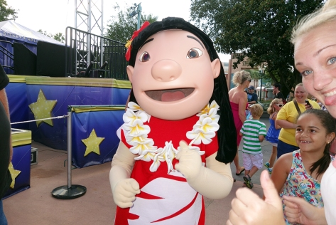 Lilo Hollywood Studios Character Dance Jam 2013
