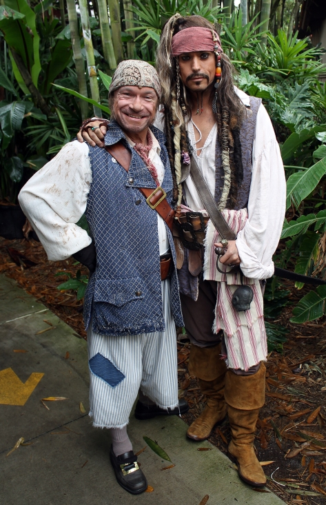 Limited Time Magic Pirates Week Jack Sparrow and Mack