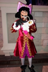 Captain Hook at Mickey's Not So Scary Halloween Party 2013