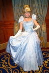 Cinderella at Princess Fairytale Hall in Magic Kingdom at Disney World