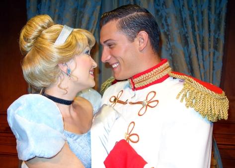 Princess Fairytale Hall Walt Disney World Magic Kingdom Cinderella and Charming. (4)
