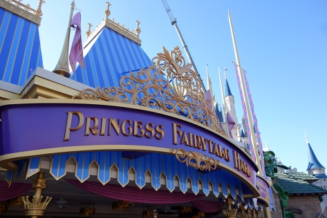 Princess Fairytale Hall Walt Disney World Magic Kingdom Exterior (6)