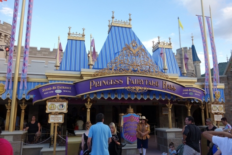 Princess Fairytale Hall Walt Disney World Magic Kingdom ExteriorJPG (1)