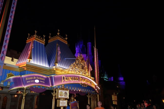 Princess Fairytale Hall Walt Disney World Magic Kingdom ktp (2)