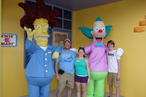 Universal Studios Orlando Sideshow Bob and Krusty the Clown Meet and Greet (1)