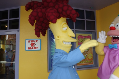 Universal Studios Orlando Sideshow Bob and Krusty the Clown Meet and Greet (3)