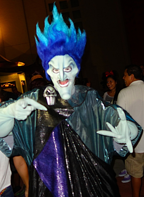 Unleash the Villains Hollywood Studios 2013 ktp Hades