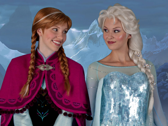 Disney confirms the arrival of Anna and Elsa from Frozen to appear in Norway in Epcot