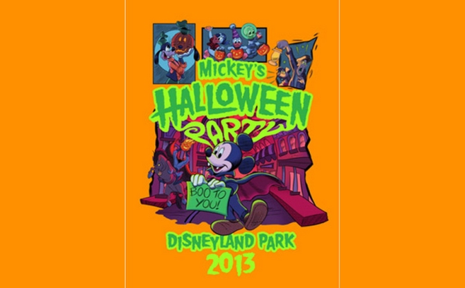 Disneyland Mickey's Halloween Party character, entertainment, attractions and dining information
