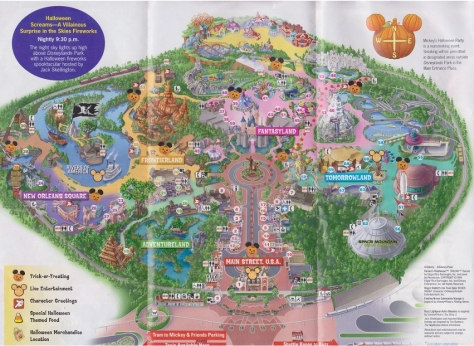 disneyland-mickey's-halloween-party-map