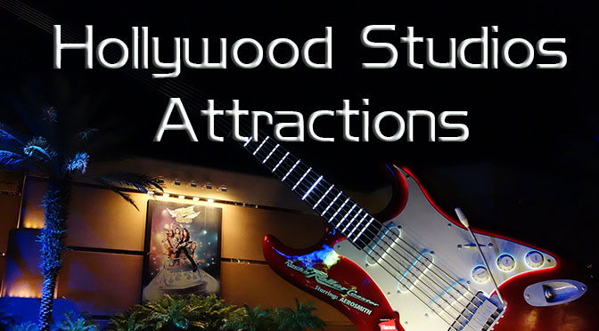 Hollywood Studios Attractions, Hollywood Studios Rides KennythePirate