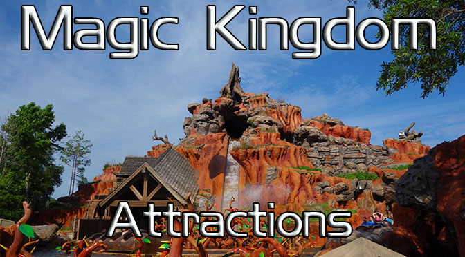 Magic Kingdom Attractions, Magic Kingdom Rides KennythePirate