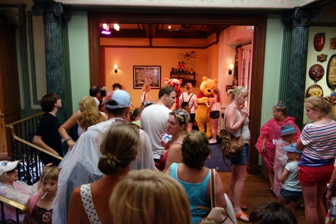This is why they are changing the queue.  I visited Tigger and Pooh on August 26th and this was a 15 minute wait.