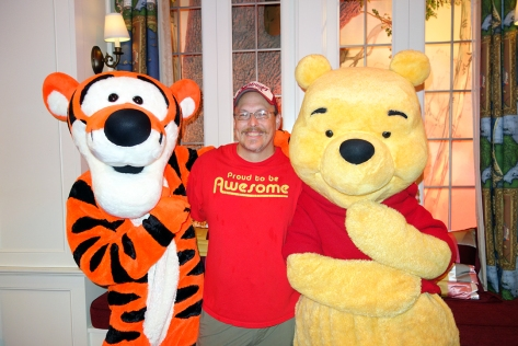 Tigger and Pooh at Epcot United Kingdom (7)