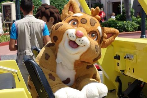 Universal Studios Orlando Dora and Diego Baby Jaguar Meet and Greet (2)