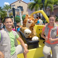 Meeting Dora the Explorer, Diego, Boots and Baby Jaguar at Universal Studios Florida