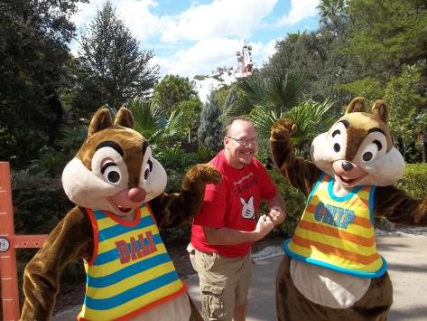 Walt Disney World, Character Meet and Greet, Halloween, Blizzard Beach, Chip n Dale