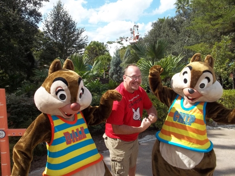 Walt Disney World, Character Meet and Greet, Halloween, Blizzard Beach, Chip n Dale