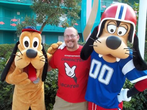 Walt Disney World, Character Meet and Greet, Halloween, All Star Sports, Goofy, Pluto