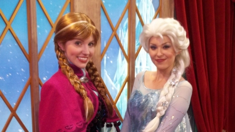 Anna and Elsa, Frozen, Epcot, Norway, Meet and Greet