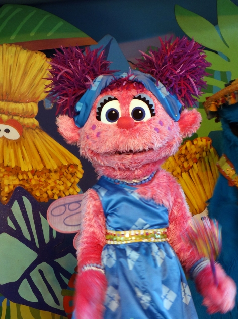 Busch Gardens Tampa Sesame Street Characters  Abby Cadabby