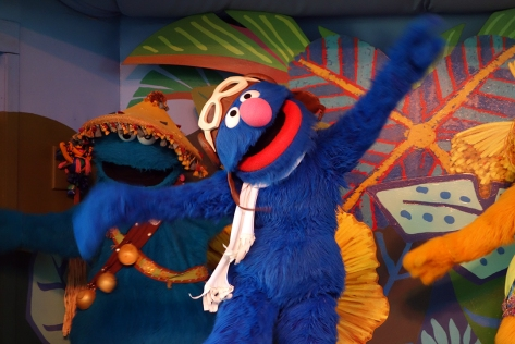 Busch Gardens Tampa Sesame Street Characters  Grover