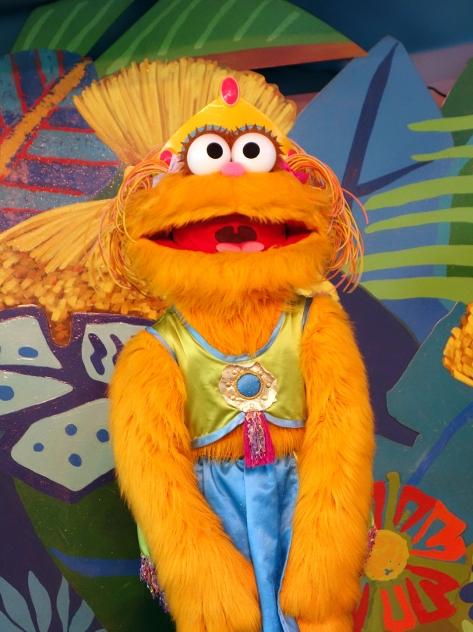 Busch Gardens Tampa Sesame Street Characters  Zoe