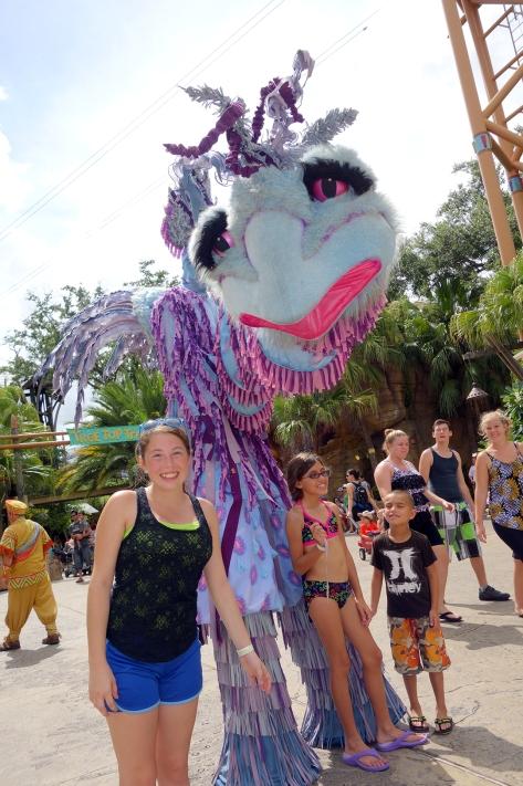 Busch Gardens Tampa Stiltwaker Character (5)