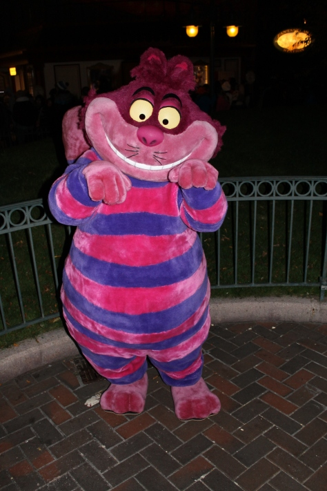 Disneyland Paris, Characters, Halloween,  Cheshire Cat