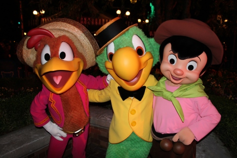 Disneyland Paris, Characters, Halloween, Gauchito, Panchito, Jose Carioca, Three Caballeros