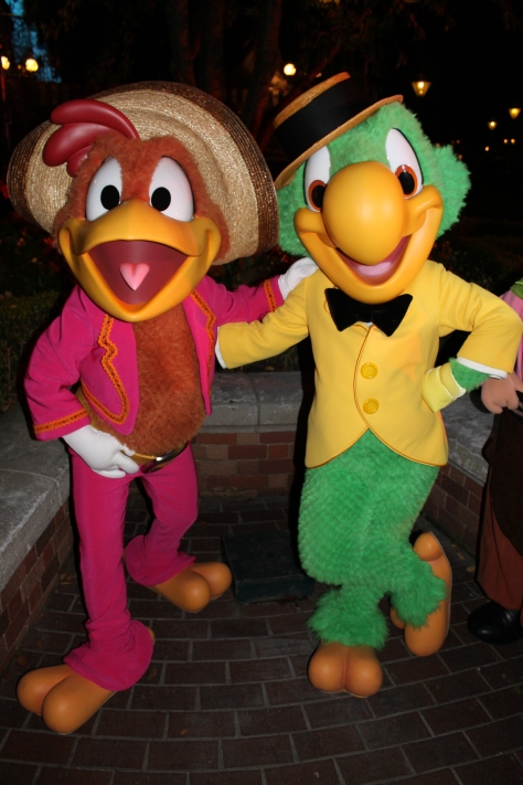 Disneyland Paris, Characters, Halloween, Jose Carioca, Panchito Pistoles, Three Caballeros
