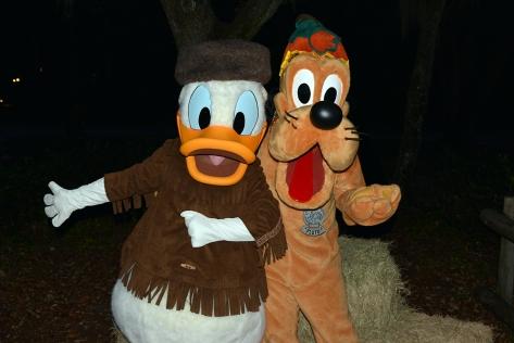 Walt Disney World, Character Meet and Greet, Halloween, Fort Wilderness, Donald Duck, Pluto