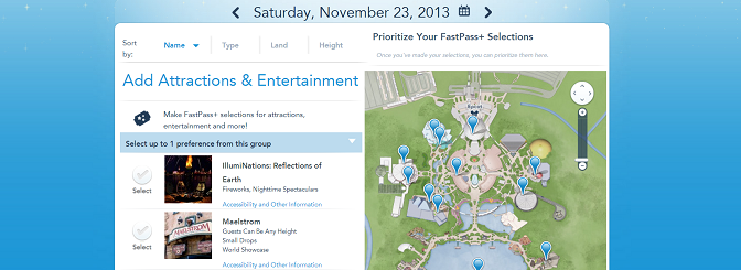 Epcot to test further restrictions on Fastpass+ usage
