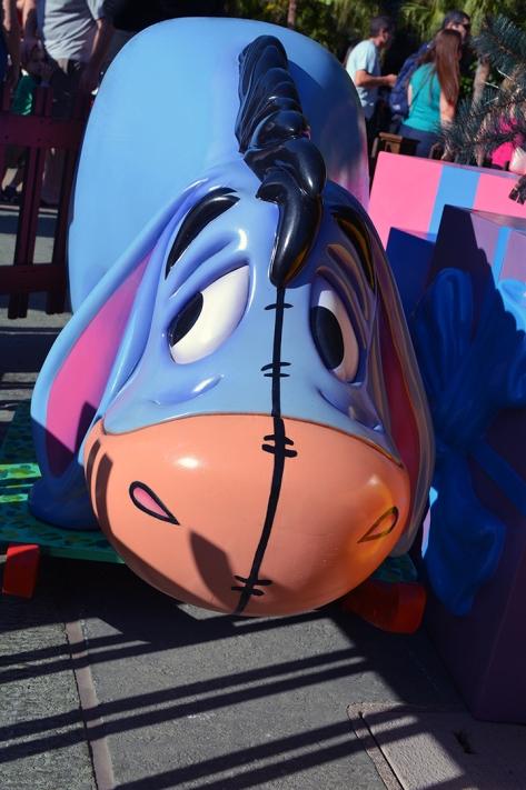 Walt Disney World, Animal Kingdom, Christmas 2013, Christmas Tree, Eeyore