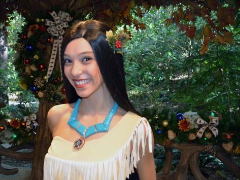 Walt Disney World, Animal Kingdom, Christmas 2013, Camp Minnie Mickey, Pocahontas
