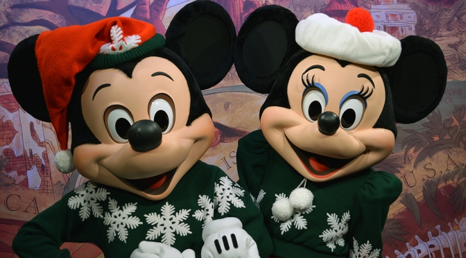 Animal Kingdom characters in Christmas attire and a farewell to Camp Minnie Mickey